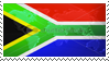 The South African Flag Stamp by MoRbiD-ViXeN