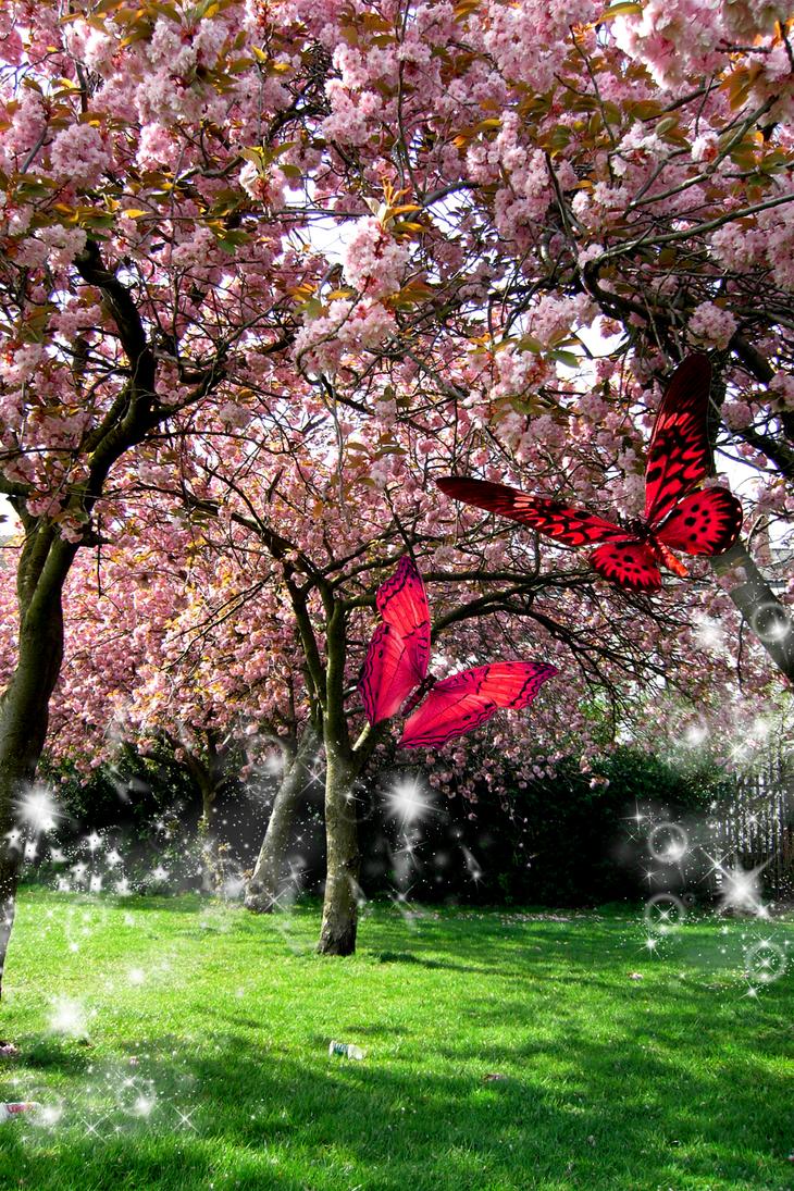 Spring Butterfly by MoRbiD-ViXeN