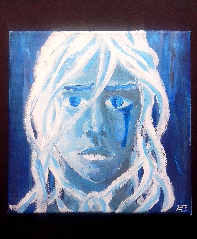 Blue melancholia by Stolius