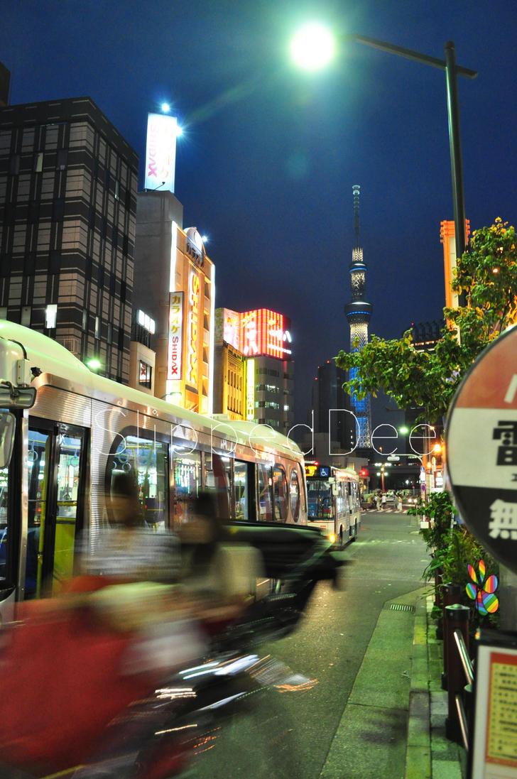 Tokio Rush Hour 01 by SlippedDpix