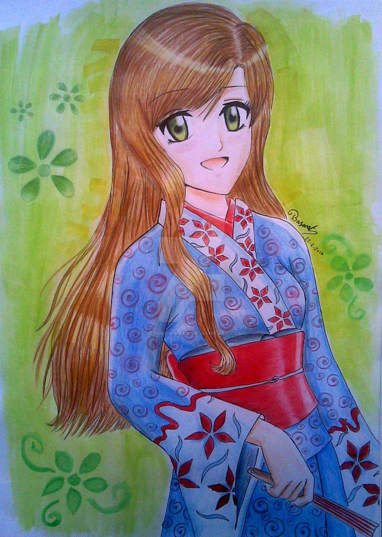 Anime Kimono by UtsukushiRan