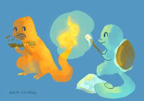 Fireside Chums by Beachpie