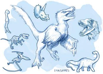Dinos by Beachpie