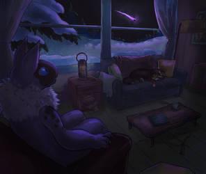 [October Entry #1 FFA] Night Watch by Beachpie
