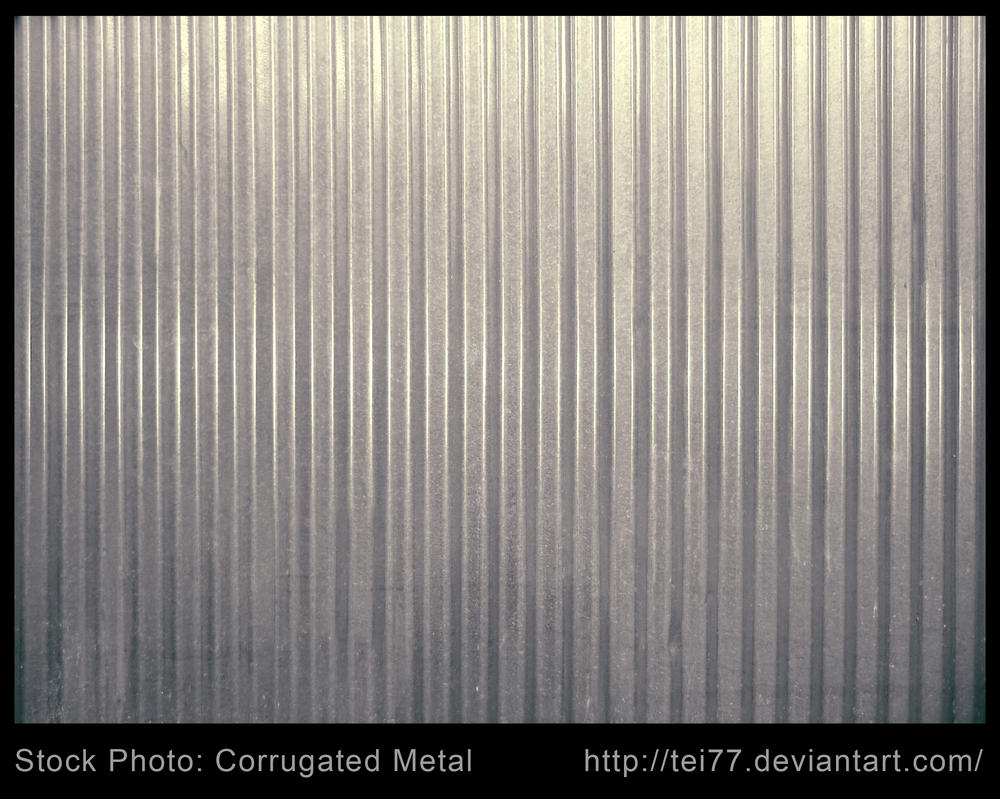 corrugated metal by tei77 on deviantart