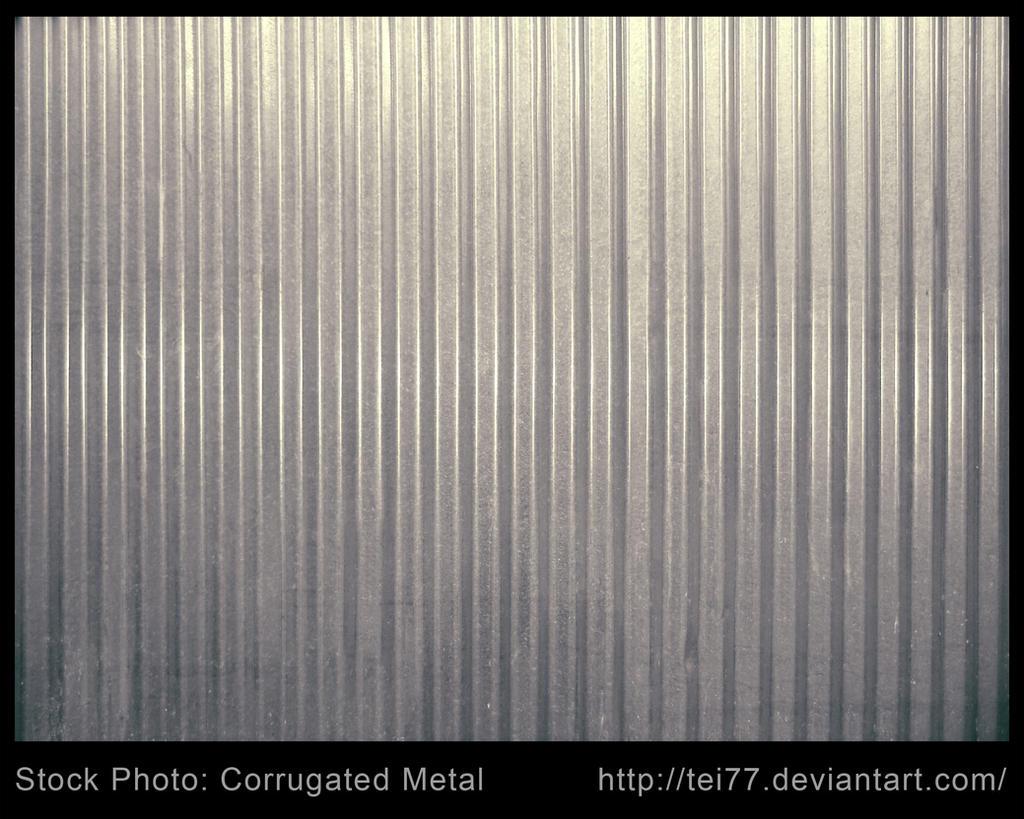 Corrugated Metal Panel Texture Corrugated Panel Galvanized Texture