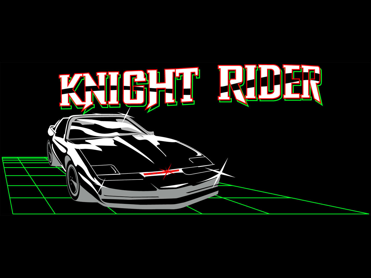 Knight Rider's KITT by estesgraphics