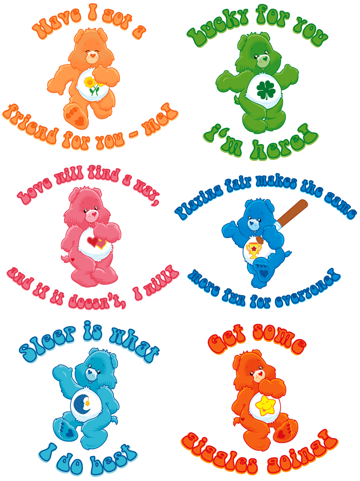 Carebears 2 by estesgraphics