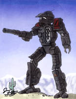 Gray Death Centurion by Karyudo-DS