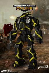 Striker Axman by Karyudo-DS