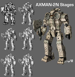Axman Stages by Karyudo-DS