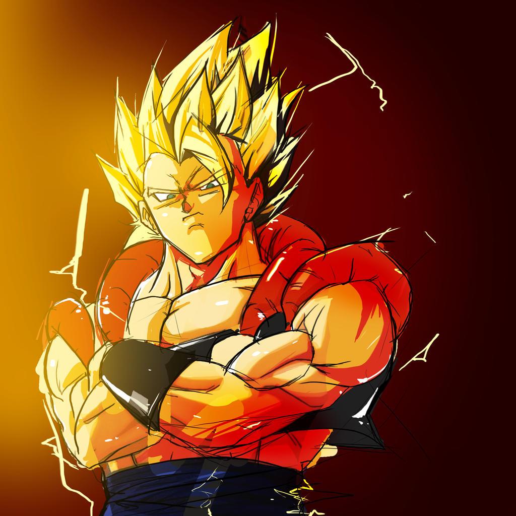 Dragon Ball Z Wallpapers Gogeta Super Saiyan 4 Dragonball Z Movie