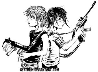 Kids with Guns by Syethain