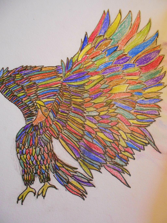 Bird. by Audea