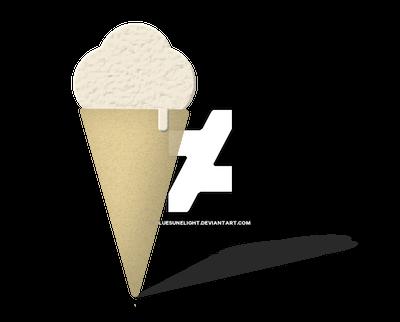 Vanilla Cone