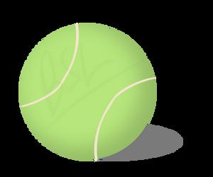Tennis Ball by BlueSuneLight