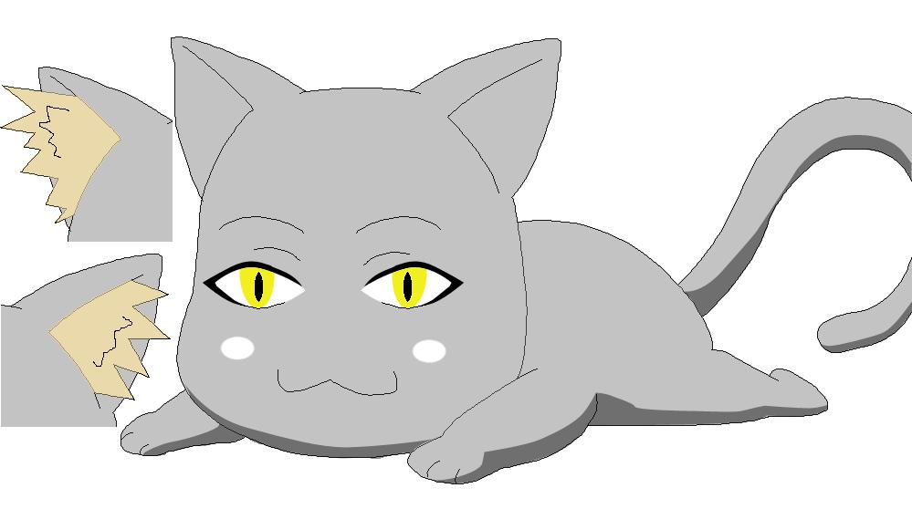 anime cat base 05 by zznightdiamonzz on deviantart