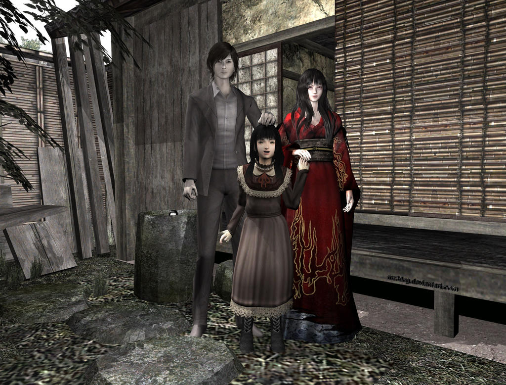 Fatal Frame 4 family photo by mz3dcg on DeviantArt