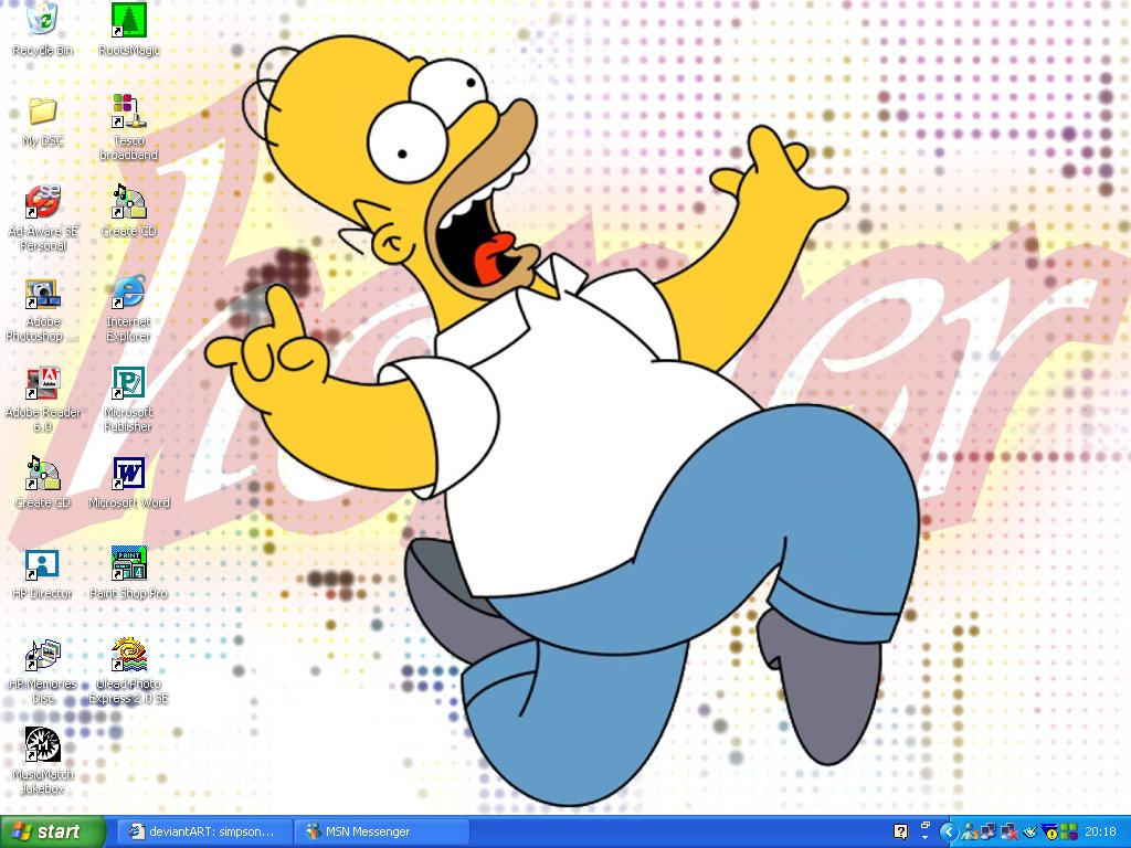 Mmm...Desktop by simpsons-club