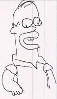 Homer Jay - XDarkLove by simpsons-club