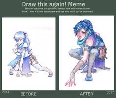 Draw This Again: Rain by Serenyan