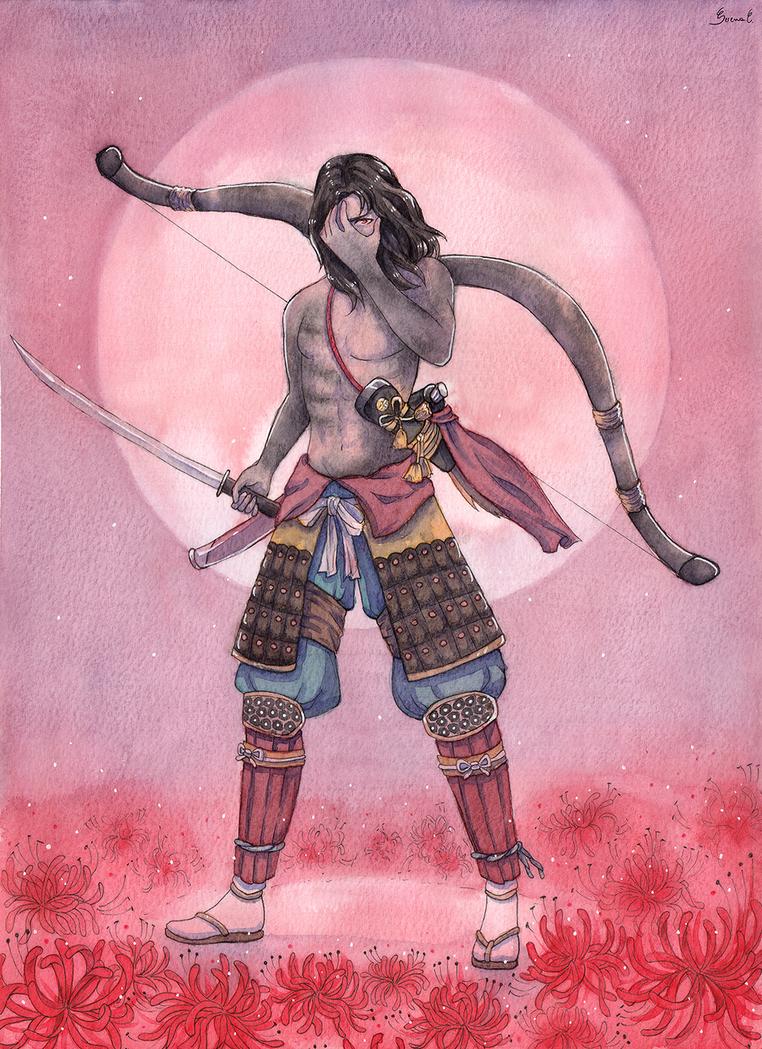 Commission - Genichiro by Serenyan