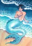 Dream: Merman JK by SerenaShin