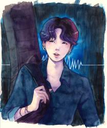 Min Yoongi by SerenaShin
