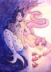 Namkook mermaids by SerenaShin