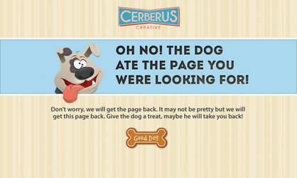 404 Error Page Design by Anne-O