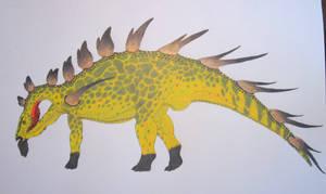 Kentrosaurus Aethiopicus Color