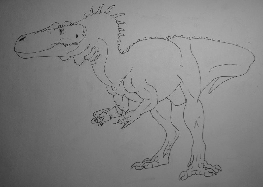 Torvosaurus Tanneri ink