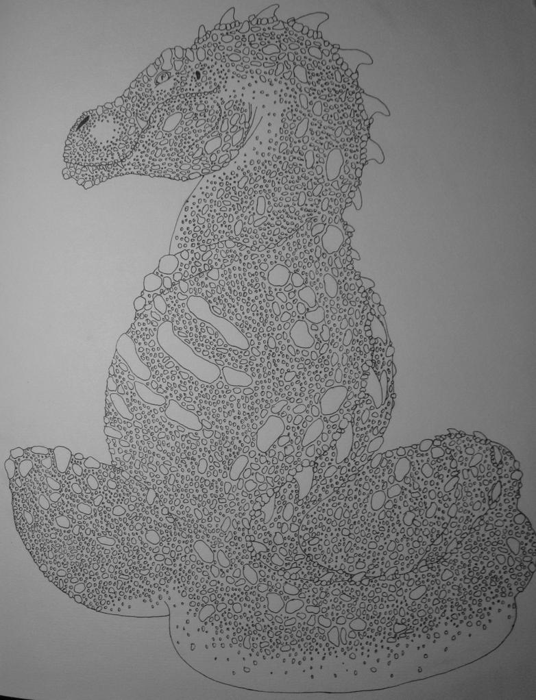 Dragony Beastie by Raptor-Chick