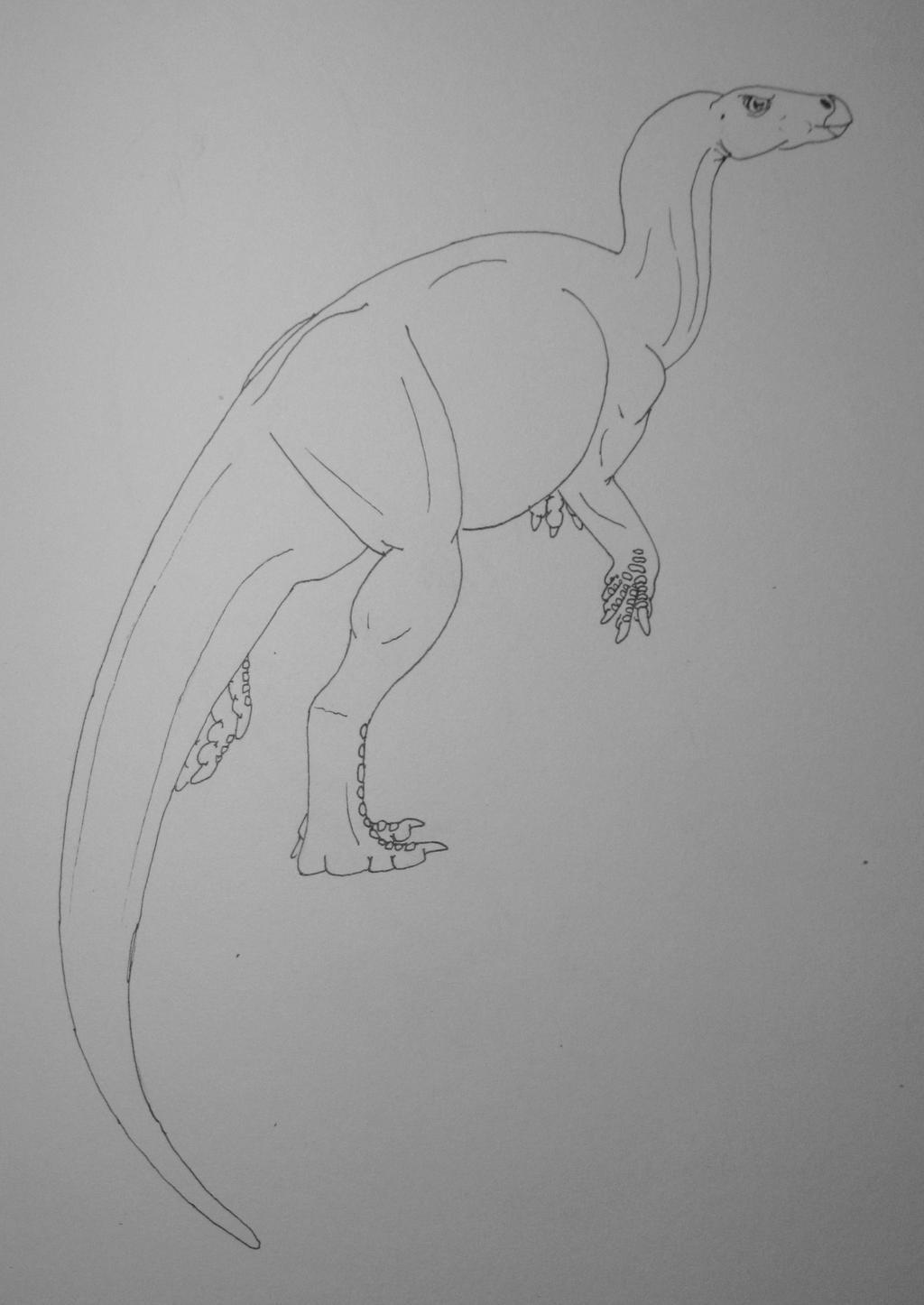 Parksosaurus Warreni Ink