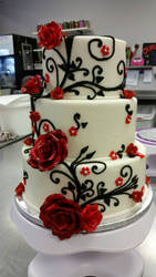 Rose Vine Cake
