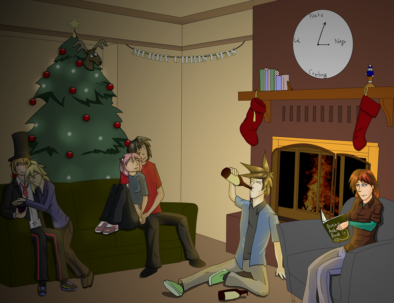 Christmas 2010 by Crusader1089