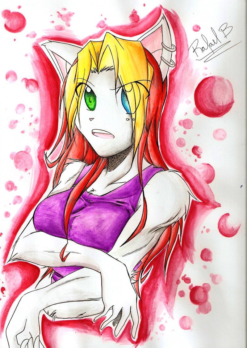Reyna watercolors by Rali-arts