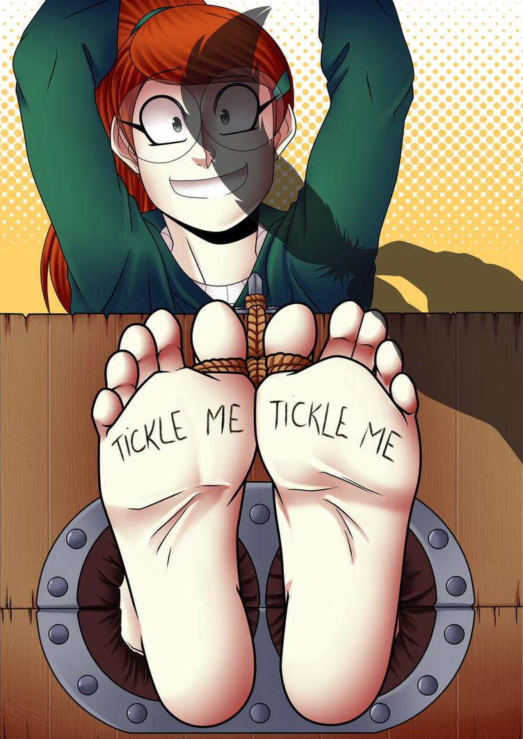 tickle torture YCH lines Tulip by Rali-arts