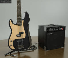 Bass and Amp B