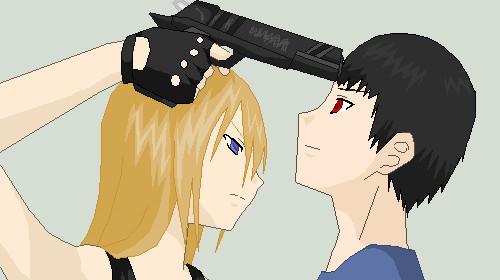 Anime Pixel Art By Angelsknight117 On Deviantart