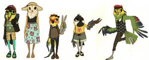 Bird Designs for Toucat