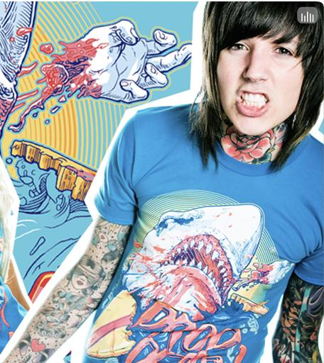 Oliver Sykes 3 by Thoughtlessamaya