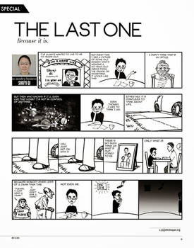 NO MONKEY BUSINESS: The Last One