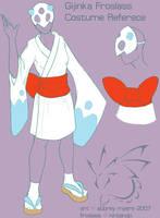 Froslass Gijinka Costume by armaina