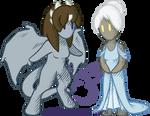 Talon and Dione Tiny
