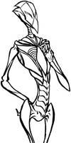 Biomech Munin Ink by armaina
