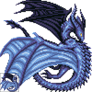 Razkhel Boss Sprite by armaina