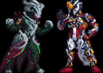 Xeno and Loz Pixels