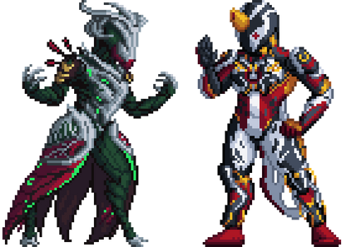 Xeno and Loz Pixels
