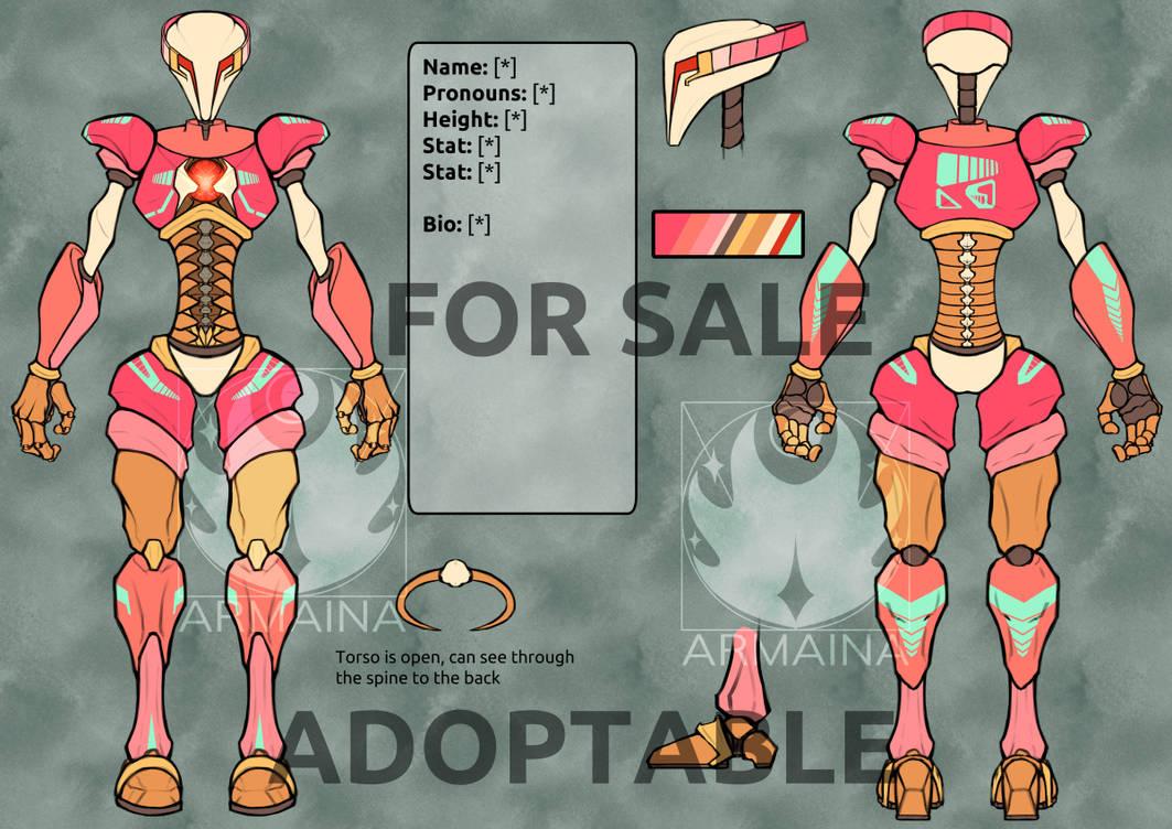 sherbert robot adopt available by armaina deilz4d